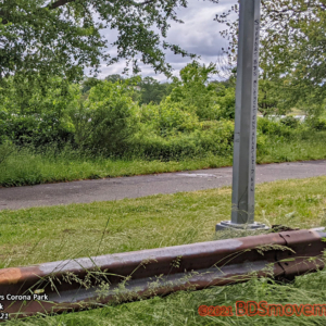BDS Movement Meadow Lake Lamp Post on Path